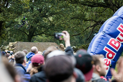 Craig Evans slipped under the radar to take the top step