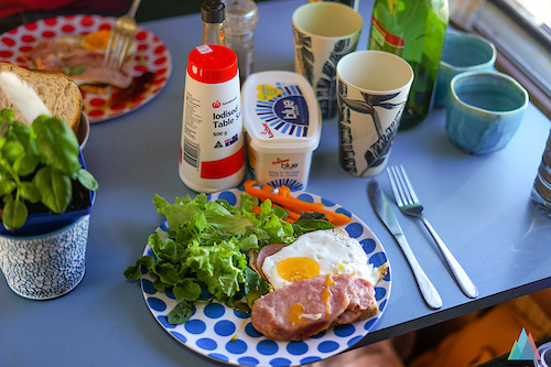 Breakfast Vanlife