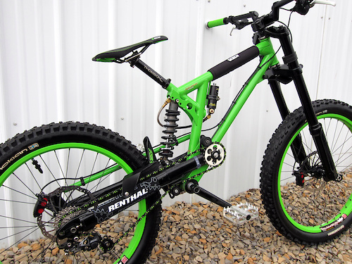 *FRAME: Brooklyn Machine Works TMX Green / Black w/ Avalanche DHS 3.0 x 9.0 AVA 450 