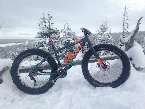 Fat bike in it's element