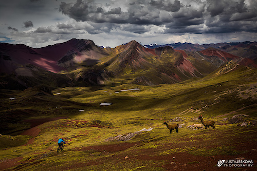 Endless options and no people on our 8-day bikepacking trip in Peruvian Andes.