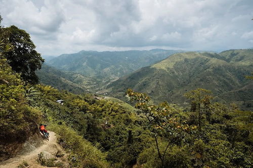 Manizales Colombia. Credit Enduro World Series