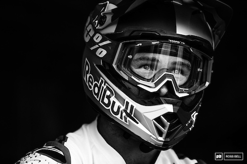 Great to see Brook riding (and riding fast!) after his brutal crash in Croatia. He's another contender for the podium.