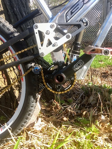 Blackspire chain guide and ring with e13 TRS crank