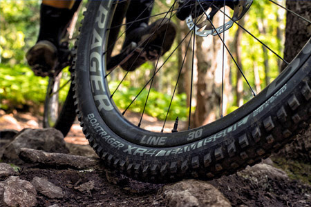 Bontrager wheel and tire