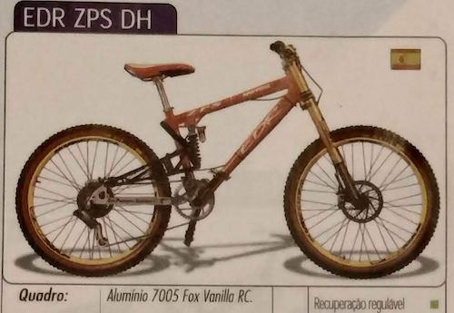 EDR ZPS DH bike
