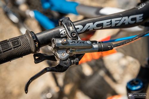 Greg Callaghan's Cube Stereo - XTR brake levers