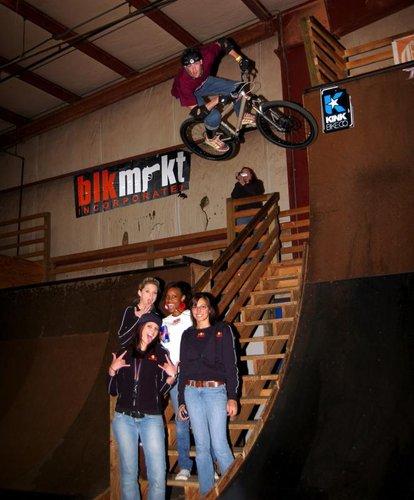 Red Bull Girls and Mark Baillie