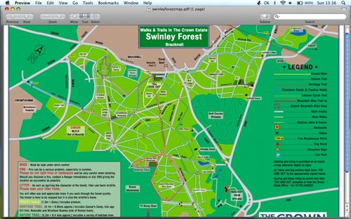 Swinley Forest Map Bracknell Swinley Forest   Pinkbike Forum Swinley Forest Map