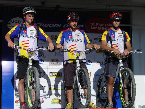 UCI TRIALS WORLD CUP - SAINT FRAN OIS LONGCHAMP