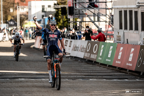 The first statement of the 2021 season goes to Mathieu Van Der Poel.