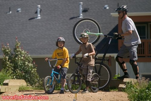 And men...these kids are coming up fast and want your spot in the Crankworx finals