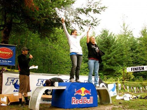 Pro Ladies podium