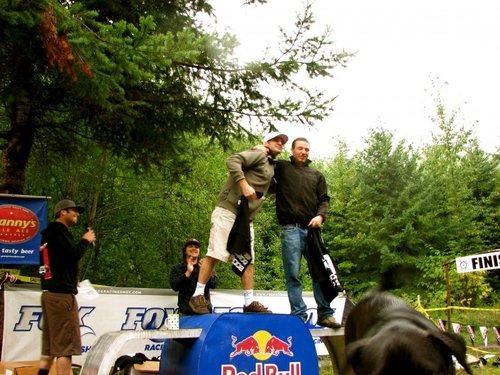 Pro Men's podium
