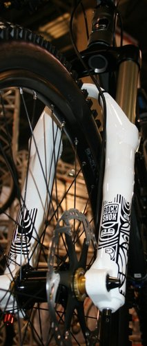 RockShox's Totem Coil is ready for action and just happens to look sick in all white
