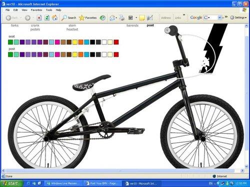Bmx colour scheme creator :D - Pinkbike Forum