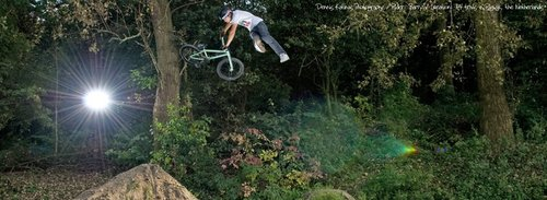 Barry is flying again, tailwhip