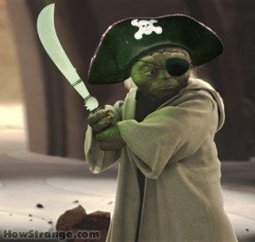pirate yoda
