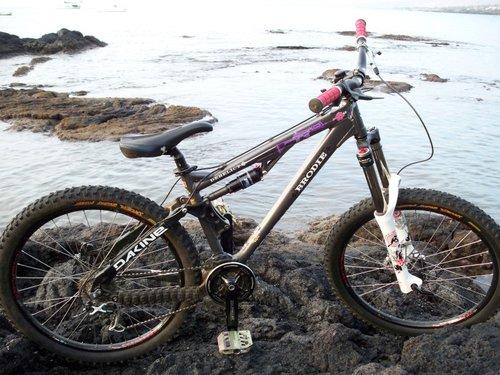 The bike: Brody Derelict