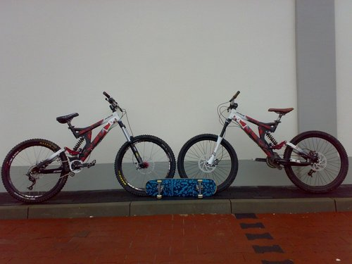 2x Specialized Big Hit FSR III