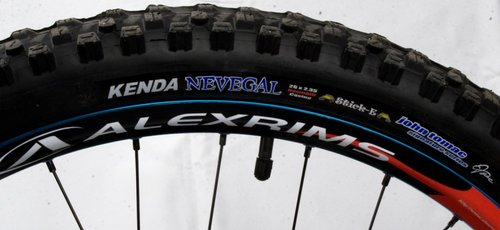 Kenda Nevegal 2.35 Tires with DH Casing