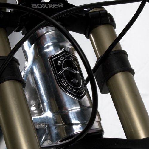 Forged Head Tube with Norco Badge