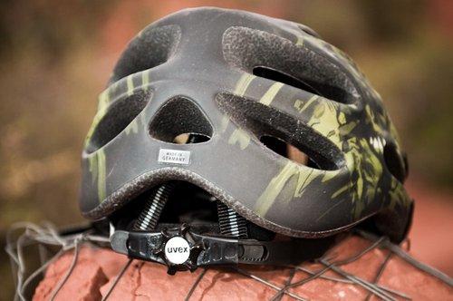 Uvex XP100 helmet ratchet fit system