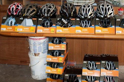 Uvex helmet assortment