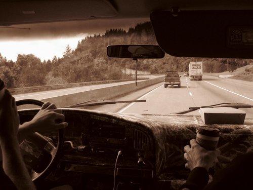 Heading up to Mt.Ashland