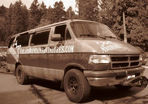 Ashland Mountain Advetures Van