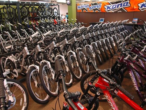 Rental Bikes waiting for you!