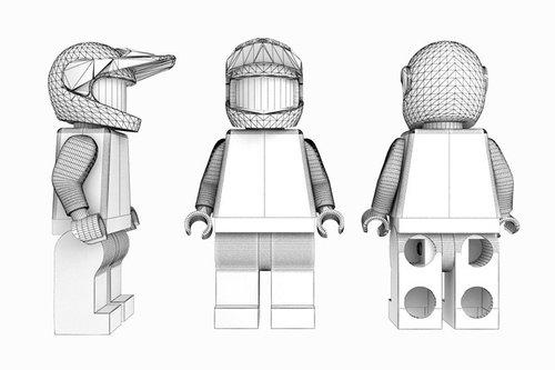 Sam Hill virtual Lego by James Dick - Pinkbike