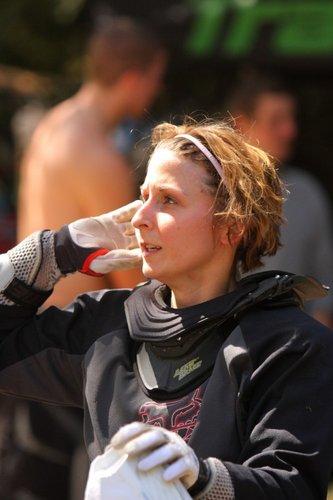 Dirt Corps Cassandra Stamm, Mother Bert Goyles (Columbia ads) long lost daughter...Congrats on your podium run.