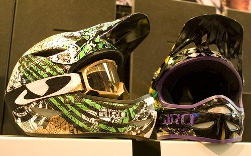 Checkout this purple helmet.