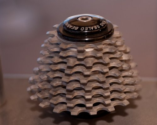 Not a cassette, but rather a stack of SS cogs.