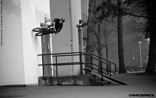 Frankie's rad gap to wall captured by Sterling Lorence. STP SS with Respond components on a LaRocque video shoot