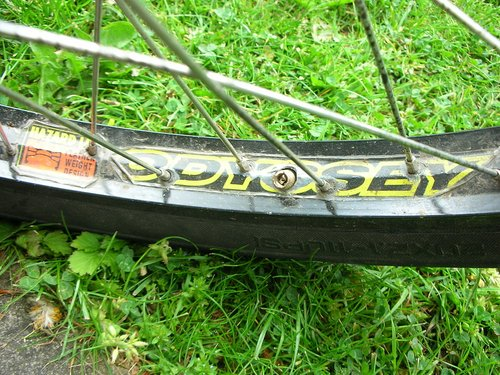 odyssey hazard light rims front and back