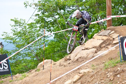 Practice for the US Open of MTB
