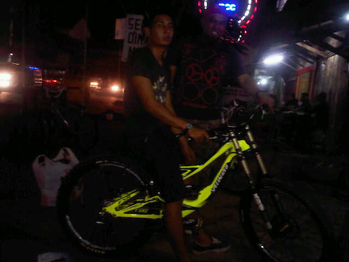 my friend's newly born bike