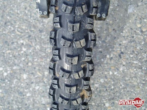 Bontrager spent some time working on this new tread pattern and the result is a nice all around performer.