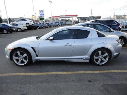 new car...mazda rx8 gt