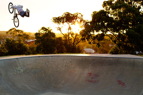 Superseat out of the bowl. Photo by Lachie Roycroft