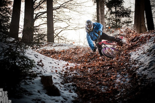 Michał Śliwa and Maciej Hojnor took Dartmoor Wish and new FR proto for local shredding in Myślenice, Poland. www.wolisphoto.com menaged to combine Winter & Autumn feel in those beauties