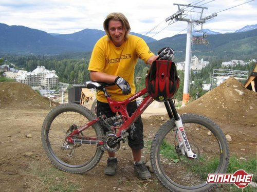Matt Brooks is now riding for Rocky Mountain Bicycles, hopefully we are seeing a next generation Fro Rider here.