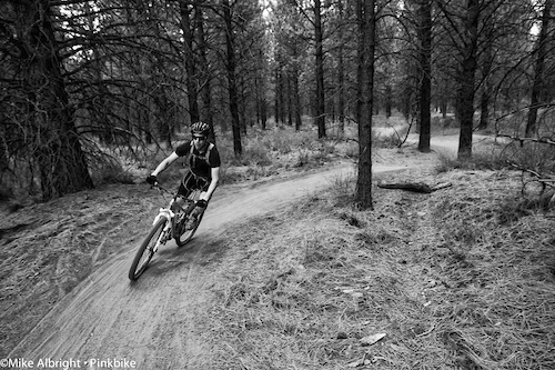"Friday ""Happy Hour"" at the Lower Whoops trail near Bend, Oregon."