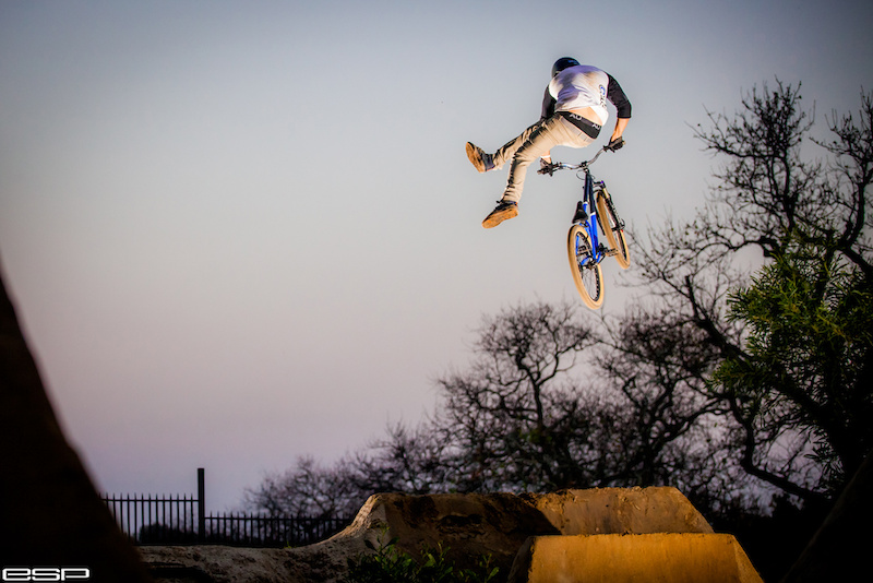 Profile shoot with Dial d Bikes rider Justin Novella. www.esphotography.co.za