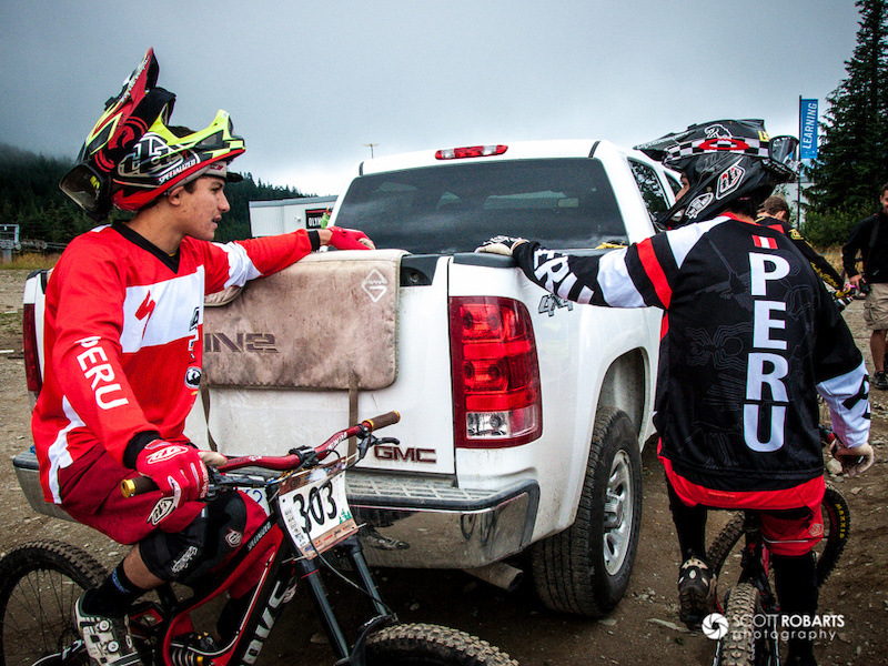 Canadian Open Downhill - Crankworx 2013