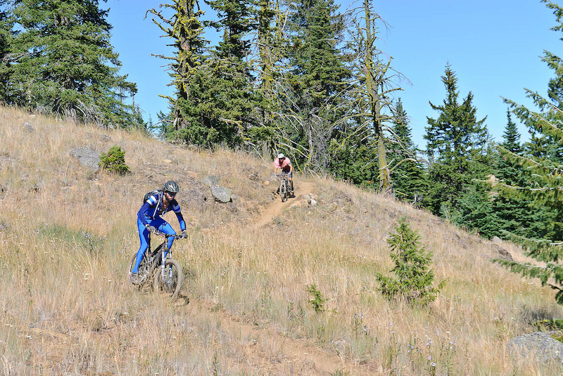 Sweet Seven Summits single-track. Rubberhead goes down Sept. 1-7. Photo by Vince Boothe