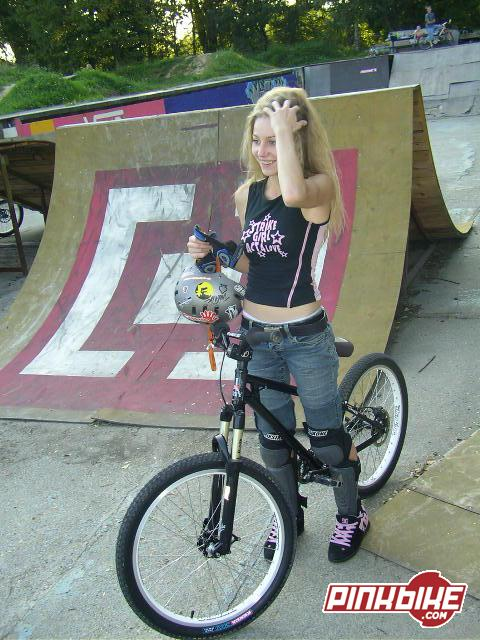 """My new bike !! Wheels 24"""" and frame """"duncon PUSSY 2""""  www.duncon.pl"""