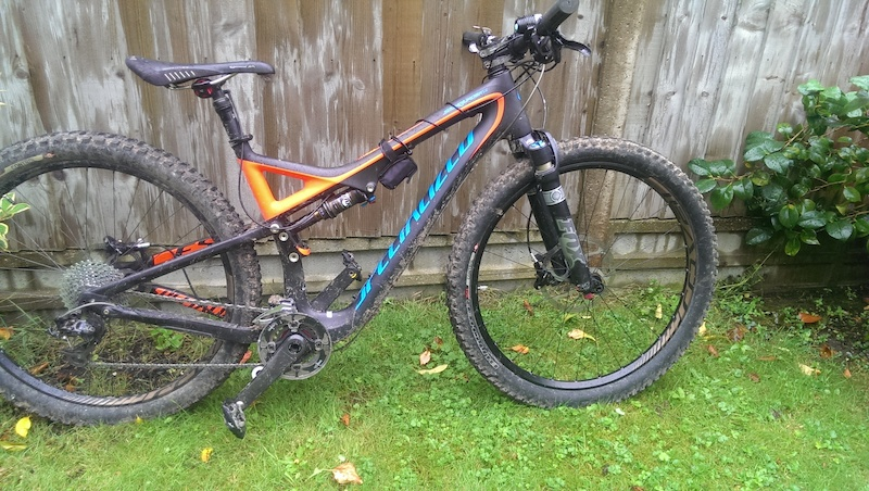 Needed to reduce the travel a bit. 150mm is just excessive all you really need is 8mm Specialized Stumpjumper FSR Evo Carbon 26